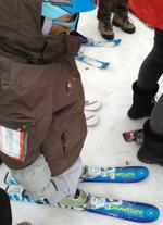 ptit loup sur skis