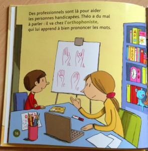orthophonie expliquée dans le livre le handicap