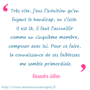 citation d'Alexandre Jollien