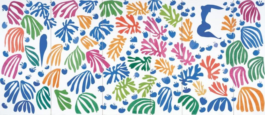 La perruche et la sirène - Matisse - 1952